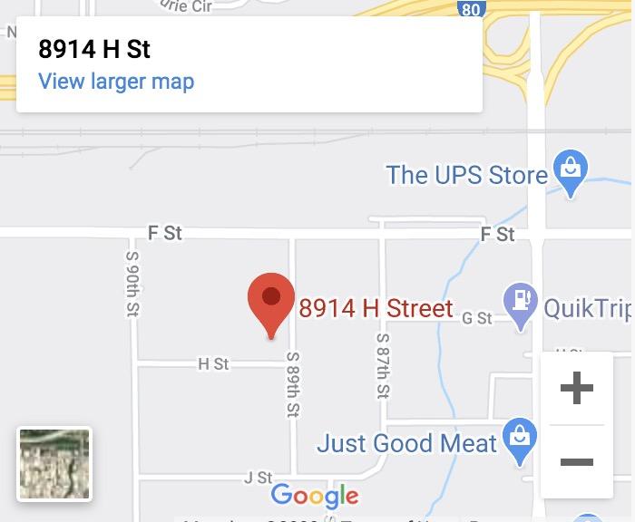 Garage Doors Business Location