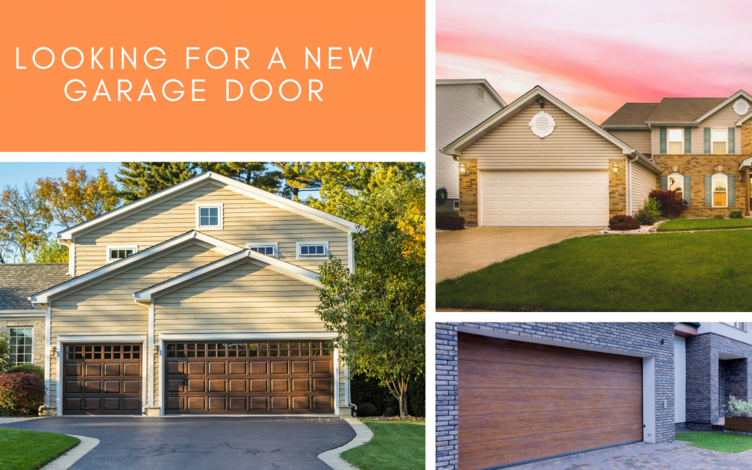 Are You Looking For a New Garage Door?